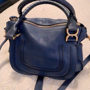 Chloe Marci Medium Leather Satchel Bag